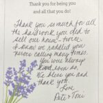 """""""Thank you so much for all the hard work you did to sell our house, TWICE!…."""""""